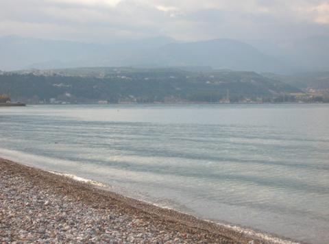sea side of Egio