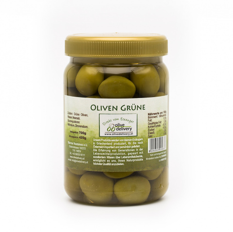 Green Olives 420 gr